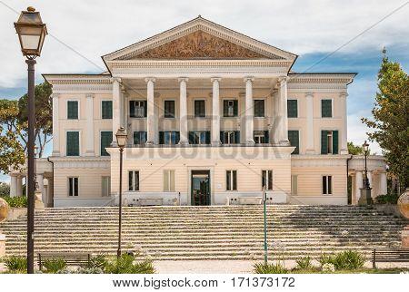 casino nobile in villa Torlonia of Rome