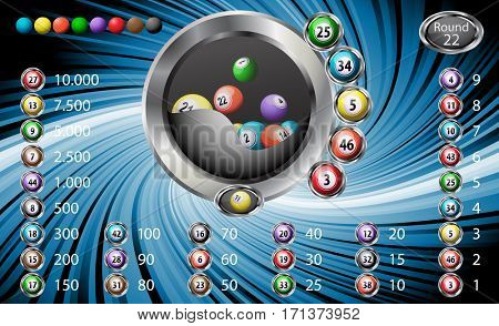 Lucky six bingo