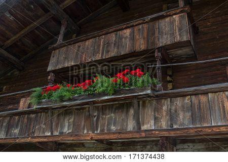 an old farm house on a farm in austria