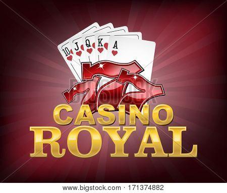 Casino royal logo or icon