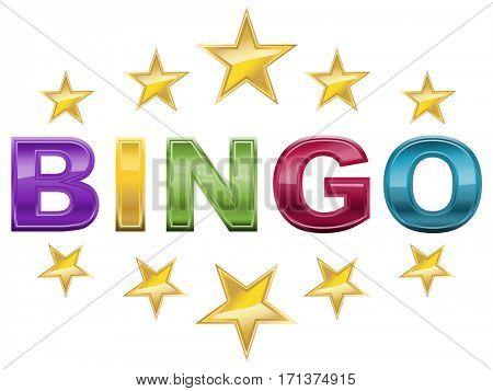 Elegant bingo logo