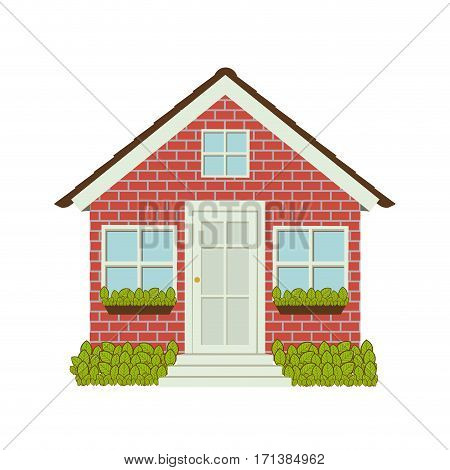 houese icon stock image, vector illustration design