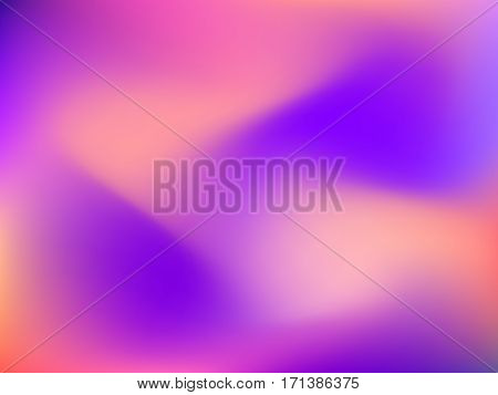 Abstract blur gradient horizontal background with trend pastel red, pink, magenta, rose and orange colors for deign concepts, wallpapers, web, presentations and prints. Vector illustration.