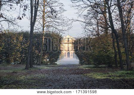 Milan (Lombardy Italy): Villa Arconati historic building in to the Park of Groane at Castellazzo di Bollate