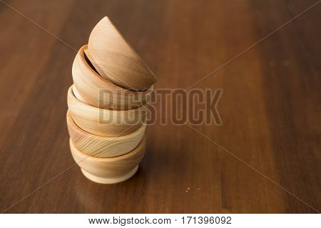 Wooden utensils are much nicer to use in the kitchen.