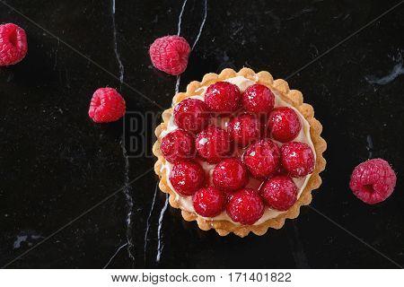 Tartlet With Raspberries