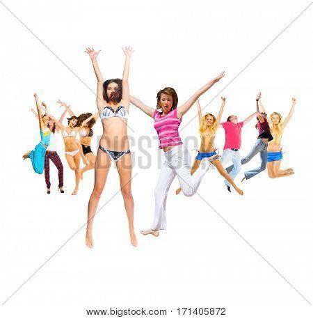 People Celebrating Success Concept