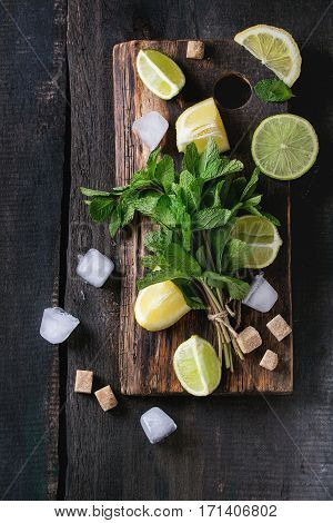 Ingredients For Ice Green Tea