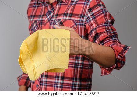 Yellow Pva Chamois