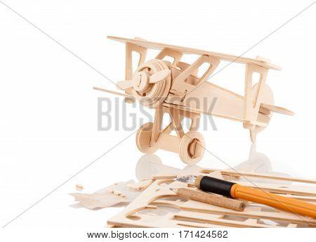 Balsa Wood Model