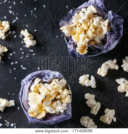 Prepared Salted Popcorn