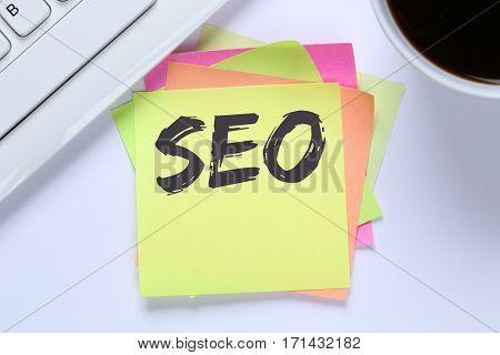 Seo Search Engine Optimization For Websites Internet Business Computer Desk