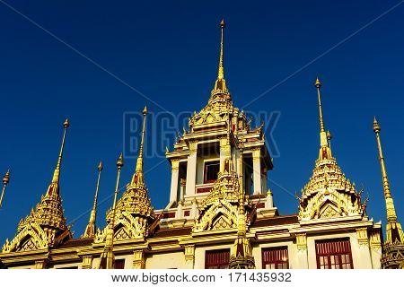Loha Prasat At Wat Ratchanadda, Bangkok