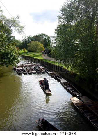 Punting In Oxford, United Kingdom