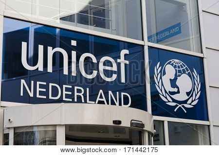 Unicef Office In The Hague In The Netherlands