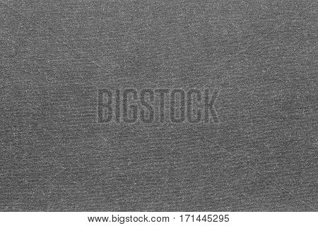 background and texture of knitted or woolen fabric of monotonous gray color