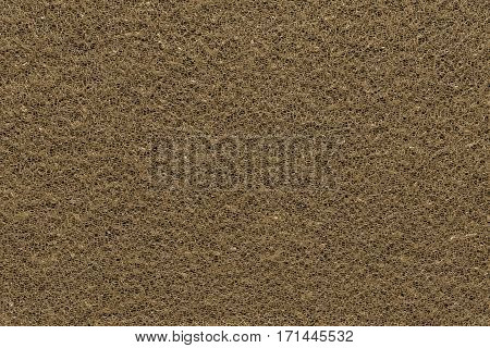 background and abstract texture with spangles of fabric of a grid of brown monotonous color