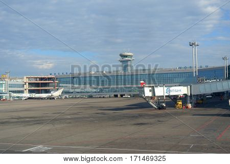 MOSCOW - JUN. 28, 2012: Moscow Domodedovo International Airport, Moscow, Russia.