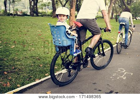 Family Bicycling Holiday Weekend Activity