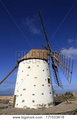 Old Windmill Near Cotillo, Fuerteventura