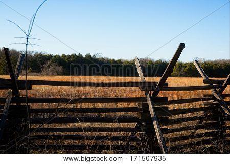 Stones River National Battlefield in Murfreesboro Tennessee