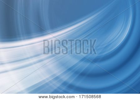Graphical Abstract Background Moving White Blur Trails in Front of Blue Background.