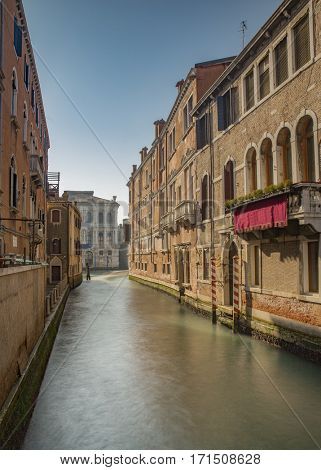View from a Venice canal