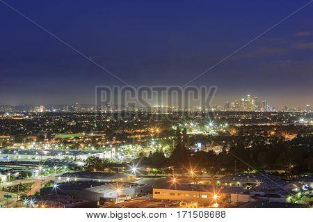 Los Angeles Downtown Skyline