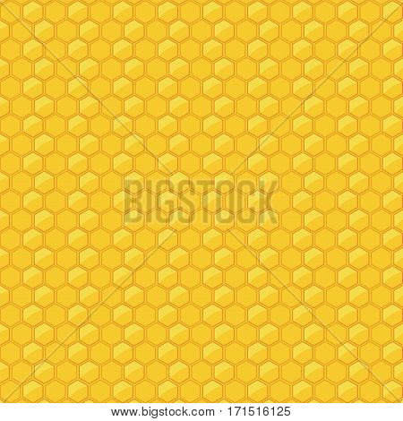 Honeycomb background. Yellow and White Honeycomb background.
