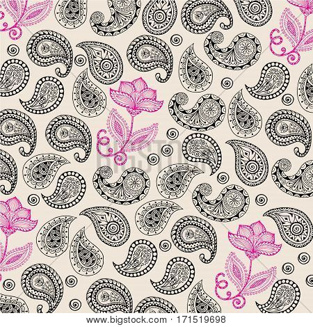 batik flower, This pattern can be used for posters, banners, brochures, or other design