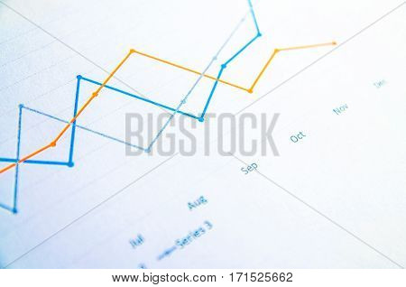 business Graphs and Charts Report (graph) .