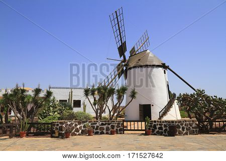 Old Windmill Of Antigua Village, Fuerteventura