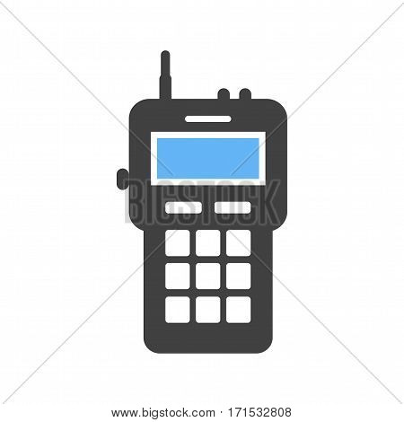 Walkie, talkie, radio icon vector image. Can also be used for firefighting. Suitable for web apps, mobile apps and print media.