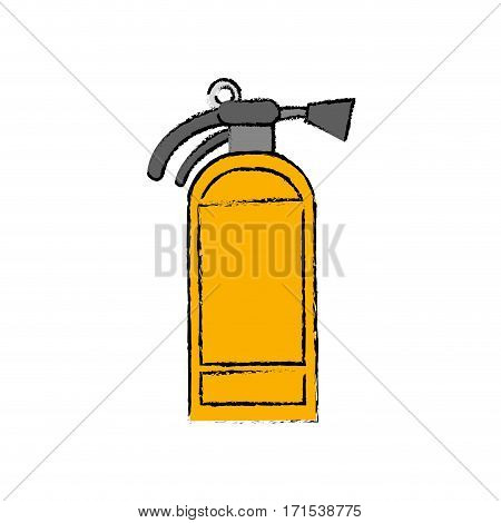 Fire extinguisher isolated icon vector illustration graphic design