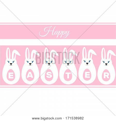 Easter Eggs, Easter Bunny, Happy Easter Sign