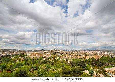 Photo of a Urfa taken from the city castle