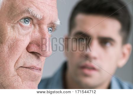 Father With Distant Look