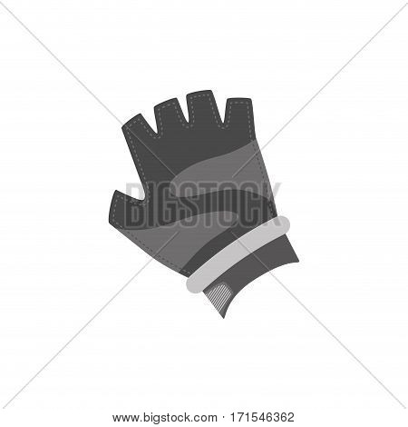 Gym glove accesorie icon vector illustration graphic design