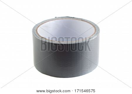 A Roll Of Adhesive Tape Isolated On A White Background, Kontseljarskoj Item,