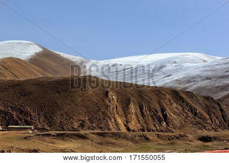 Mountains of Leh Ladakh Jammu and Kashmir India