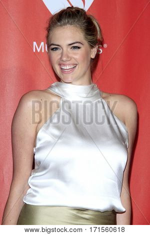 LOS ANGELES - FEB 10:  Kate Upton at the Musicares Person of the Year honoring Tom Petty at Los Angeles Convention Center on February 10, 2017 in Los Angeles, CA