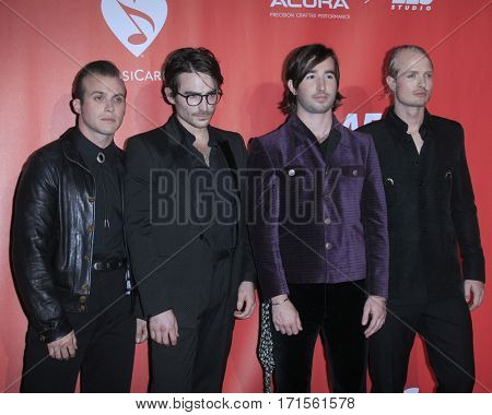 LOS ANGELES - FEB 10:  The Shelters at the Musicares Person of the Year honoring Tom Petty at Los Angeles Convention Center on February 10, 2017 in Los Angeles, CA