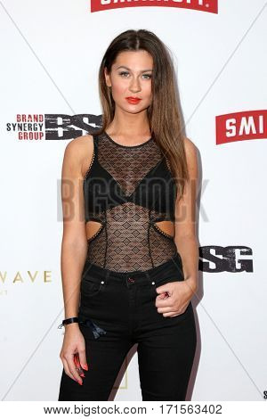 LOS ANGELES - FEB 11:  Christina Skaar at the Primary Wave 11th Annual Pre-GRAMMY Party at The London on February 11, 2017 in West Hollywood, CA