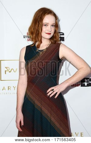 LOS ANGELES - FEB 11:  Liv Hewson at the Primary Wave 11th Annual Pre-GRAMMY Party at The London on February 11, 2017 in West Hollywood, CA