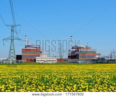 Reactor of nuclear power plant Temelin - Czech Republic