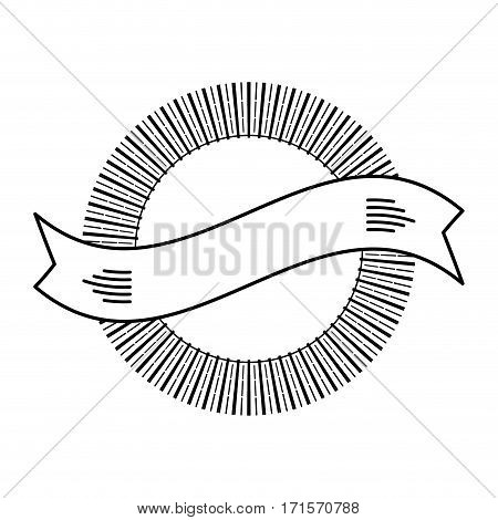 banner decorative frame ribbon design vector illustration eps 10