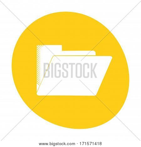 folder file document archive icon color vector illustration eps 10