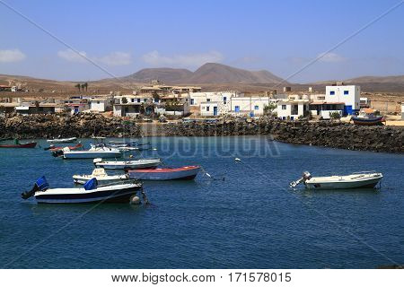 Fishing Boats In Port, Fuerteventura