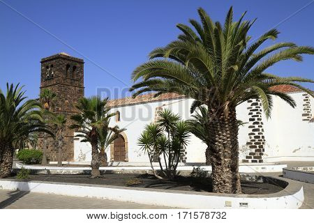 Church Of Our Lady Of Candelaria In La Oliva, Fuerteventura