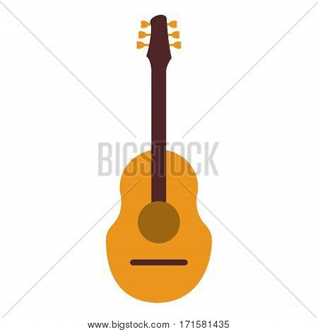 guitar traditional acoustic music vector illustration eps 10